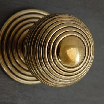 Brass Beehive Door Pull
