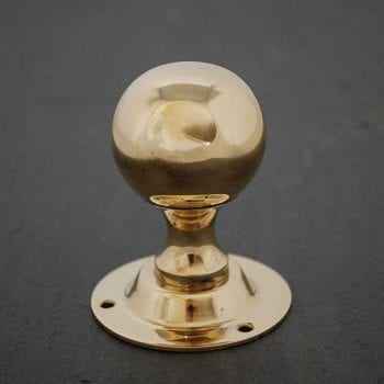 Brass Round Door Knob