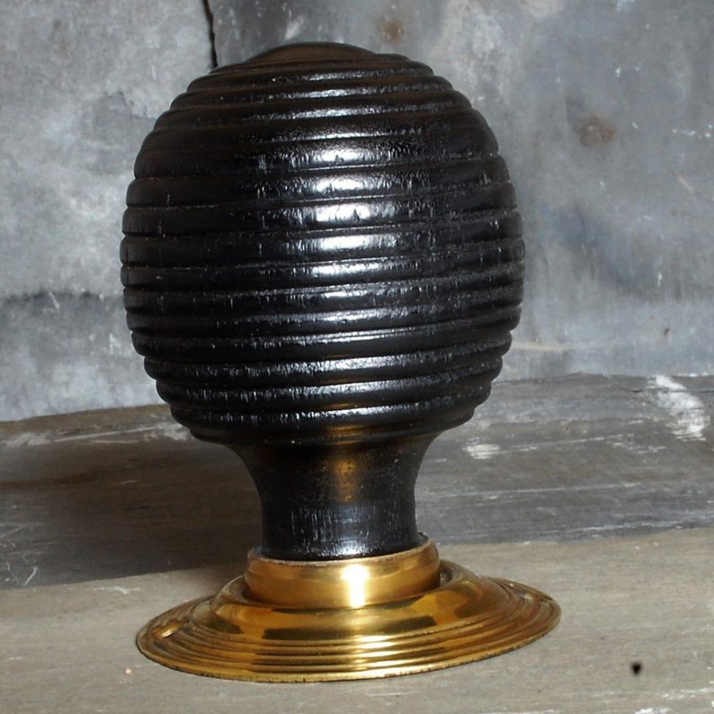Wooden Beehive Door Knob | Buy Door Knobs & Handles | Kings Handles